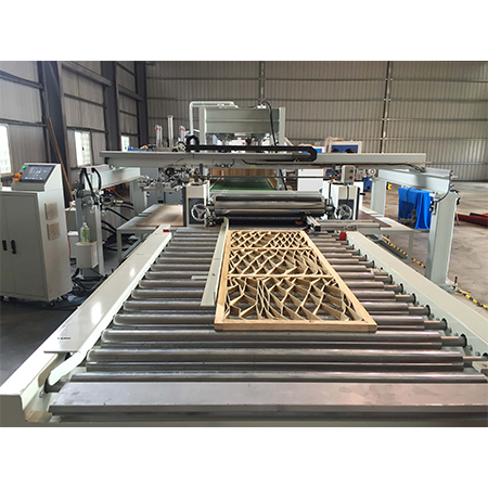 High Frequency Press - Sand wich Glued 7